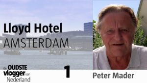 Peter over het Lloyd Hotel